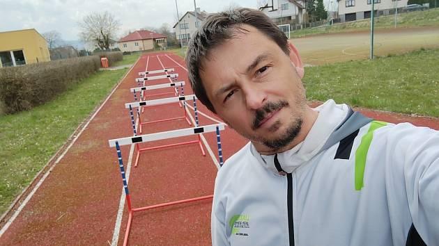 Trenér atletiky Jiří Randák
