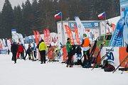 V Bedřichově odstartoval další ročník Jizerské 50. Pátek 8. února
