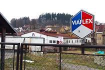 Areál bývalé firmy Viaflex