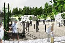 Budoucí podoba náměstí T.G.M. na Smržovce.