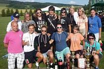 Kvalitně obsazený turnaj v Sázavě u Lanškrouna jabloneckým fotbalistkám sedí. V jeho šestém ročníku se radovaly z celkového triumfu, ale přidaly i další ocenění pro jednotlivce.