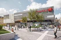Poslední vizualizace obchodního centra Central Jablonec, které má být otevřeno na jaře příštího roku.
