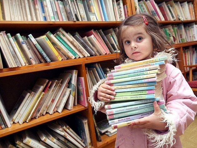 Knihovna. Ilustrační snímek.