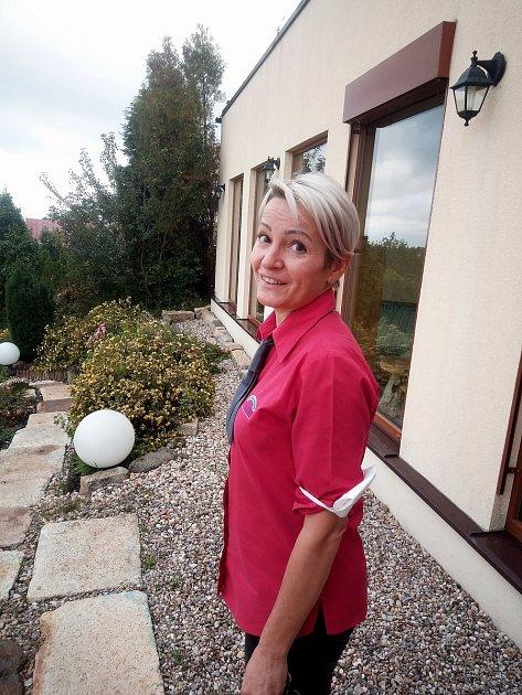 Alena Malá, provozovatelka příchovického hotelu VNebi.