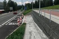 Nová autobusová zastávka v Turnově.