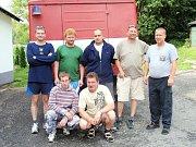 Sbor dobrovolných hasičů Lučany nad Nisou. Pomoc po povodních v létě 2009 v obcích na Novojičínsku.