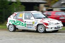 Druhé místo v seriálu rallye sprintu v kategorie A5 obsadila jablonecká posádka Tozda teamu Tomáš Grega a Jiří Ježek.