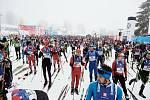 53. Jizerská 50 začala v pátek 7. února. Hlavním závodem dne byla Volkswagen Bedřichovská 30.