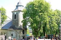 Kostel sv. Josefa na Krásné.