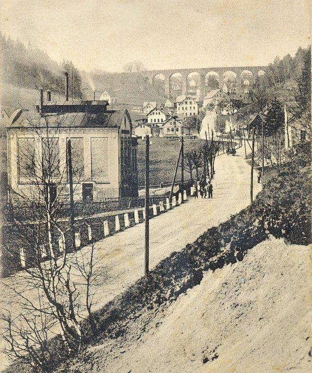Plynárna v Údolní ulici.