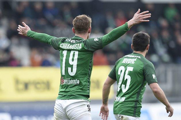 Jan Chramosta vdresu FK Jablonec dostal vzápase proti Dukle Praha opět šanci vzákladní sestavě. Adovedl ji využít.