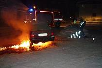 Požár Felicie v Jiřetíně p. B.