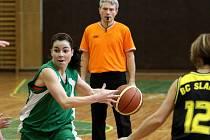 Jablonecké basketbalistky TJ Bižuterie Jablonec porazily v domácím prostředí Slaný 80:64.