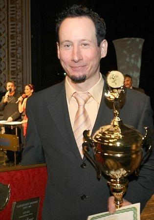 Vítěz ankety O nejúspěšnějšího sportovce roku v Libereckém kraji Lukáš Bauer.