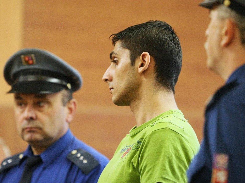 Krajský soud odsoudil Emila Hájka ke dvanácti letům vězení za pokus vraždy, kdy loni v květnu vyhodil svojí družku z okna panelového domu. Jen zázrakem pád ze sedmi metrů přežila.