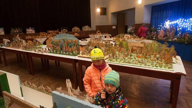 Výstava betlémů v Zásadě na Jablonecku