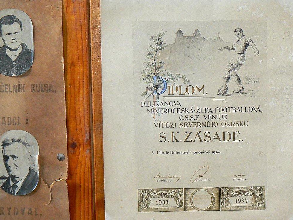 Fotbalový klub Zásada oslavoval 90 let své existence. Na oslavách nechyběla výstava o historii klubu a prodej upomínkových předmětů. Během odpoledne poděkovali významným činovníkům FK Zásada.