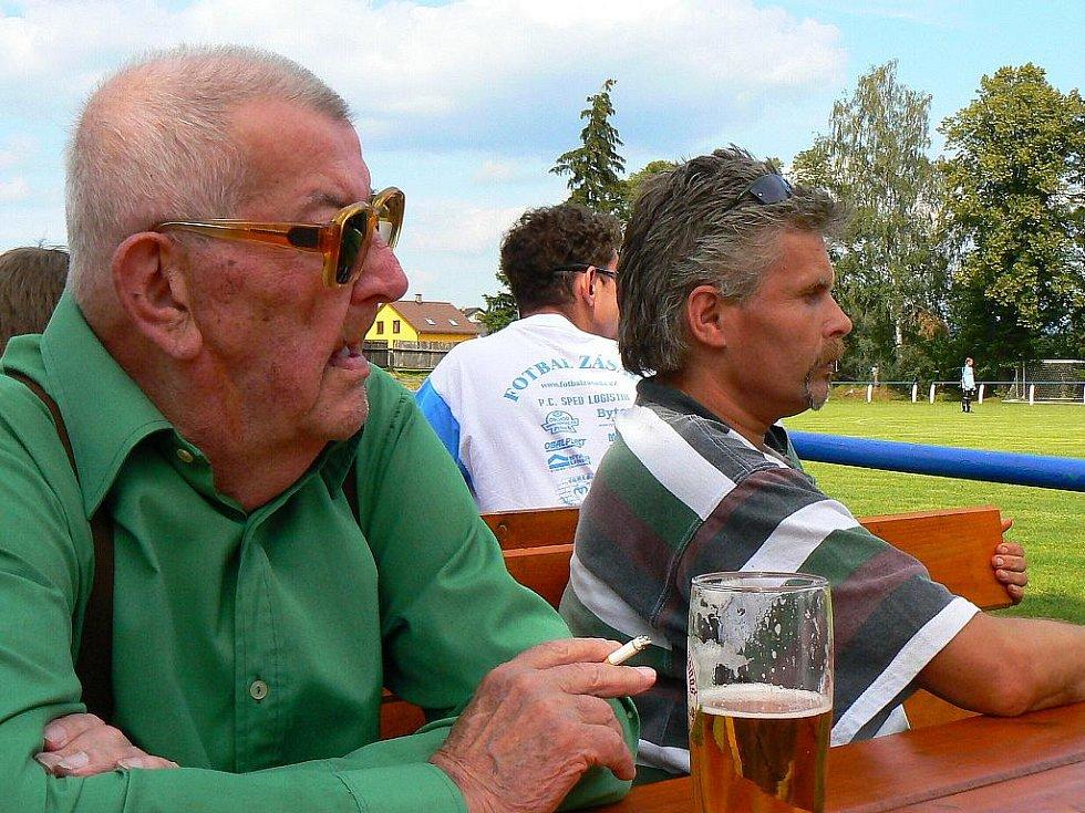 Fotbalový klub Zásada oslavoval 90 let své existence.