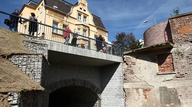 Nový most v Kamenné ulici, Jablonec n. N.