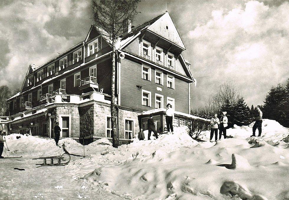 Historické fotografie Harrachova.