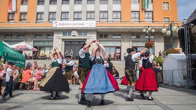 Tradiční podzimní slavnosti v Jablonci nad Nisou.