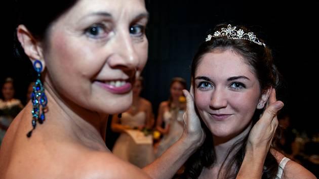 Korunovace princezen v tanečních TOPDANCE.