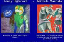 Leona Fejfarová a Michal Machata vystavují v jabloneckém divadle.