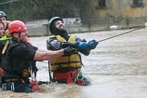 Záchranáři v Bílém Kostele