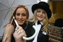 Denisa Höferová s dcerou Michaelou