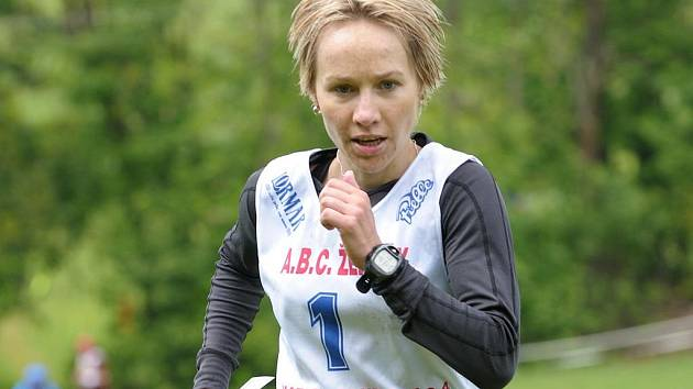 Jablonecká reprezentantka v lyžování Helena Erbenová.