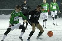 V těžkých klimatických podmínkách odehráli fotbalisté jablonecké rezervy v Českém Dubu první přípravné utkání, ve kterém porazili  SC BOREA Dresden (Oberliga) 3:2 po poločase 1:2.