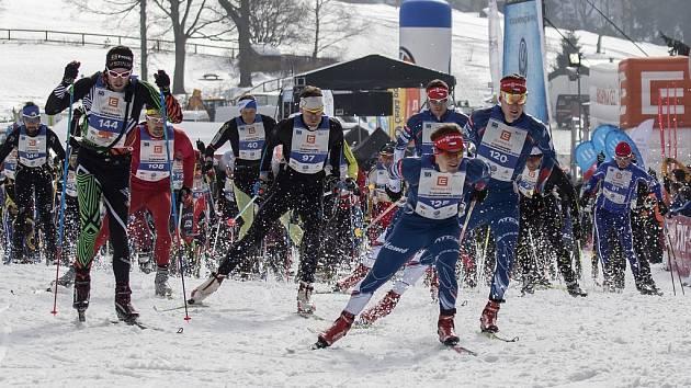 Bedřichovská 30, první závod ze série Jizerské padesátky