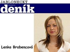 Redaktorka Jabloneckého deníku Lenka Brabencová