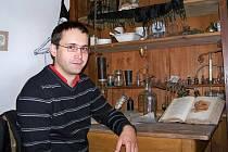 Jan Vokurka v dílně doktora Kittela.