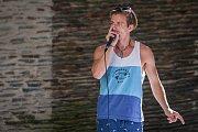 Koncert Ondry Havlíka, vicemistra světa v loopingu a několikanásobného mistra České republiky v beatboxu, proběhl 3. července na letní scéně eurocentra v Jablonci nad Nisou v rámci 20. ročníku akce Léto tančí.