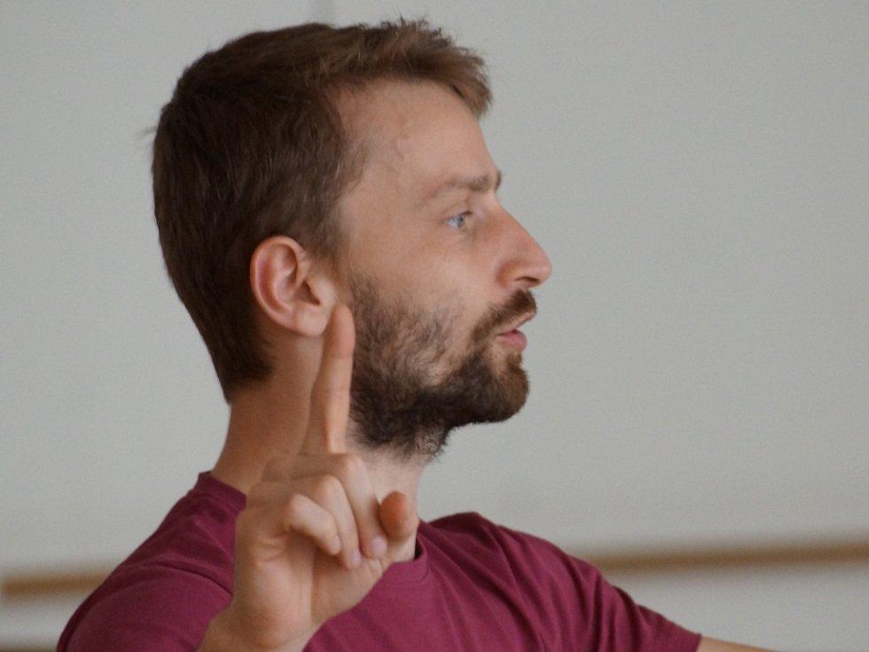 Lektoři akce: Léto tančí 2017 v Jablonci nad Nisou. Rosťa Šrom.