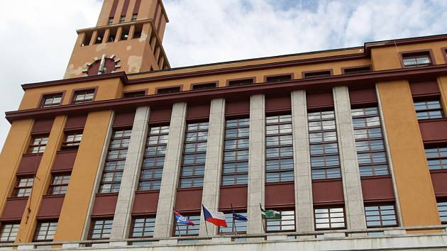 Jablonecká radnice. Ilustrační snímek