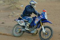 Martin Macek ze Smržovky absolvuje letošní Dakar na stroji Yamaha jako týmová jednička.