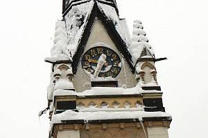 Kostel na náměstí Dr. Farského.