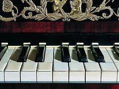 Klavírní recitál. Ilustrační snímek.