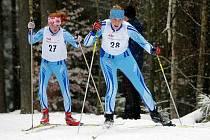 V běžeckém areálu Břízky v Jablonci nad Nisou se ve dnech 26. – 31. 12. konají závody v běhu na lyžích pro veřejnost všech věkových kategorií pod názvem Jablonecká šestidenní. Zleva Čížková a Kožnarová z Jilemnice.