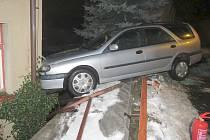 Nehoda v Železném Brodě.