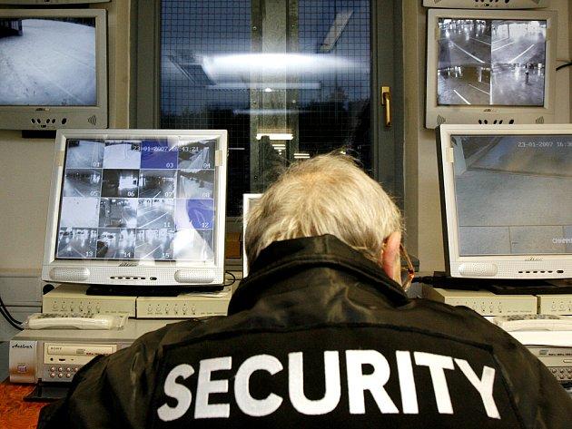 Bezpečnostní služba. Ilustrační snímek.