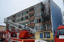 Požár v Jablonci