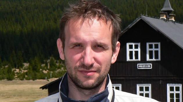 David Jelínek, mluvčí Nová Hřebenovka