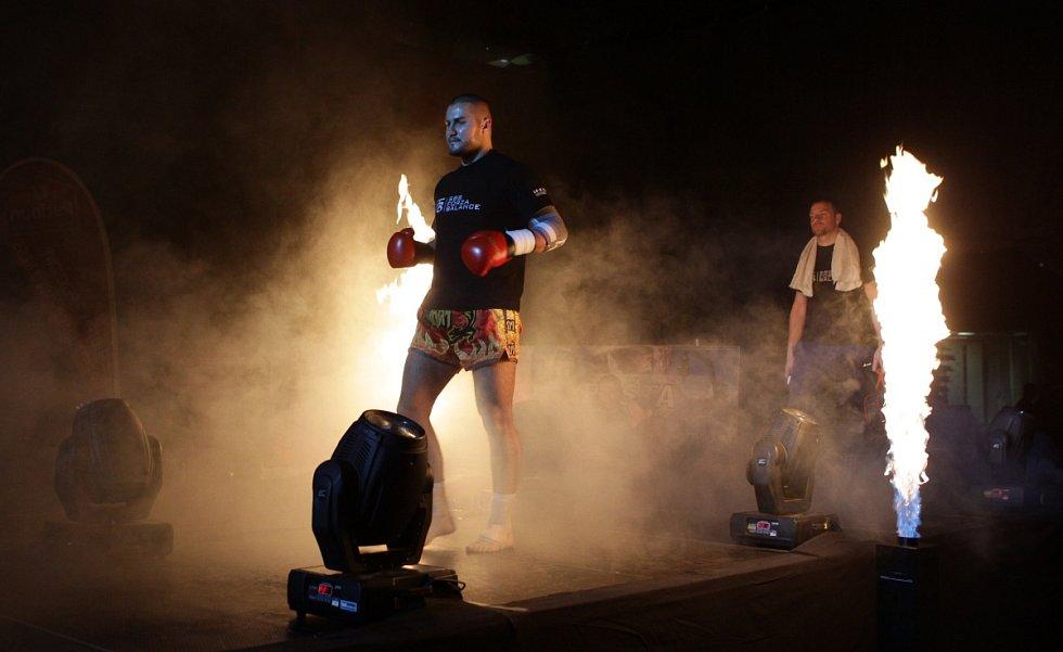 Night of Warriors II v Tipsport areně. Na snímku Georgij Fibich (Iron Fighters).