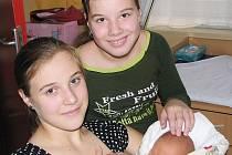 Petr Pachman se sestrami Karolínou a Kristýnou
