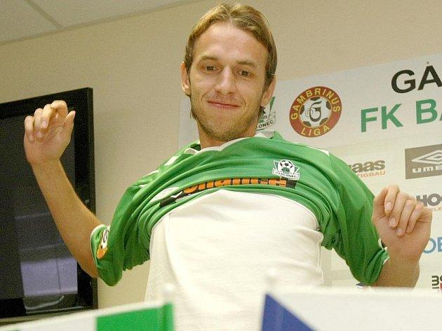 Marek Jarolím si oblékl dres FK BAUMIT Jablonec.