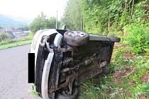 Ve Velkých Hamrech dnes ráno havaroval řidič, který za volant vozidla usedl pod vlivem alkoholu.