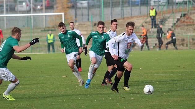 Tým Jaroslava Vodičky vybojoval vítězství v posledním zápase sezóny, který hrál doma, až když zlepšil výkon v druhém poločase.